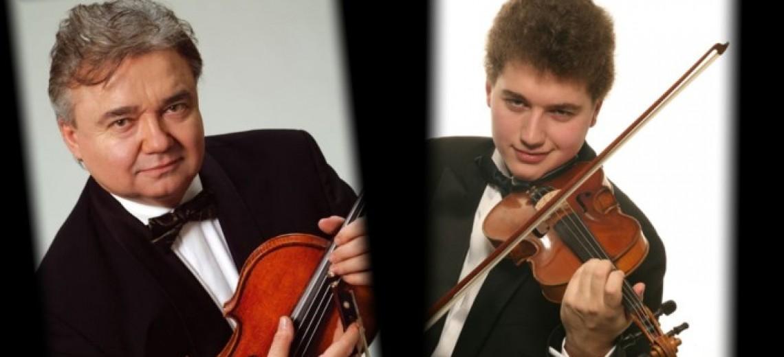 MIROSLAV AMBROŠ (housle) - OLDŘICH VLČEK  (viola) - ZUZANA AMBROŠOVÁ (el. klavír)