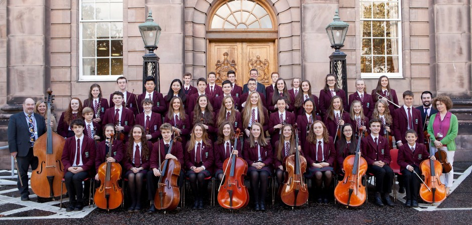 Studenti z Edinburghu předvedli klasiku i skotskou tradici