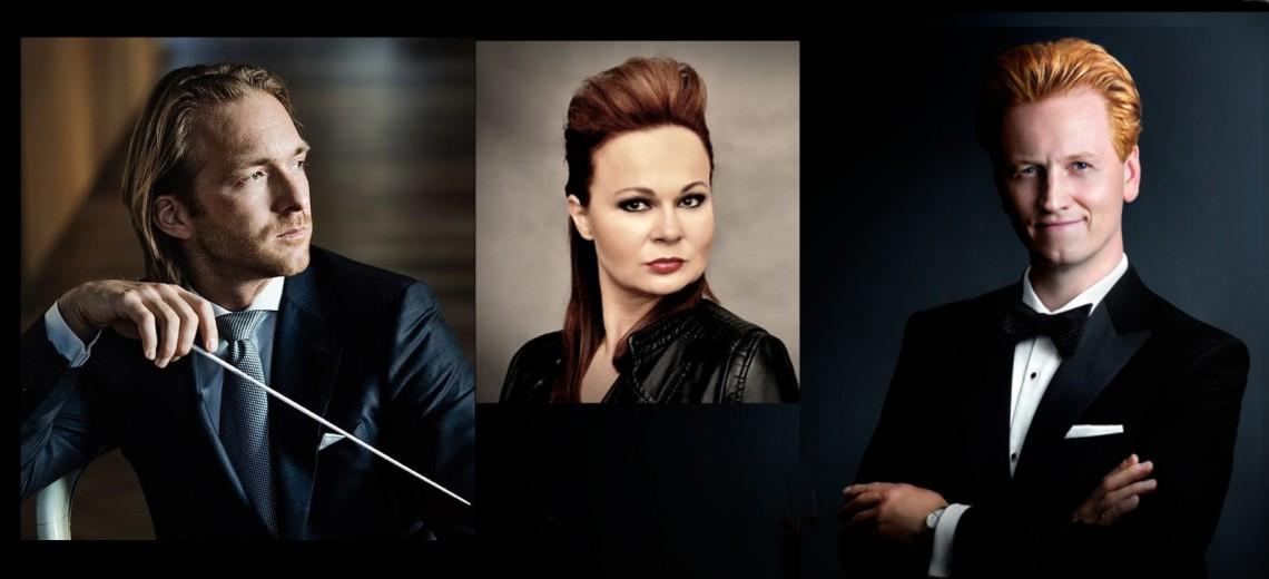 E. Weissová - J. Pustina - Harvestehuder Sinfonieorchester