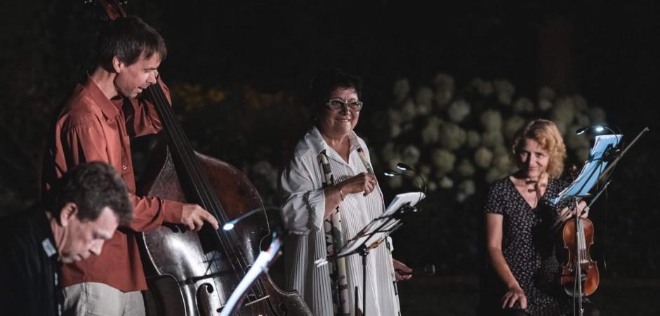 Zlatka Bartošková rozproudila emoce v nejkrásnější jablonecké zahradě