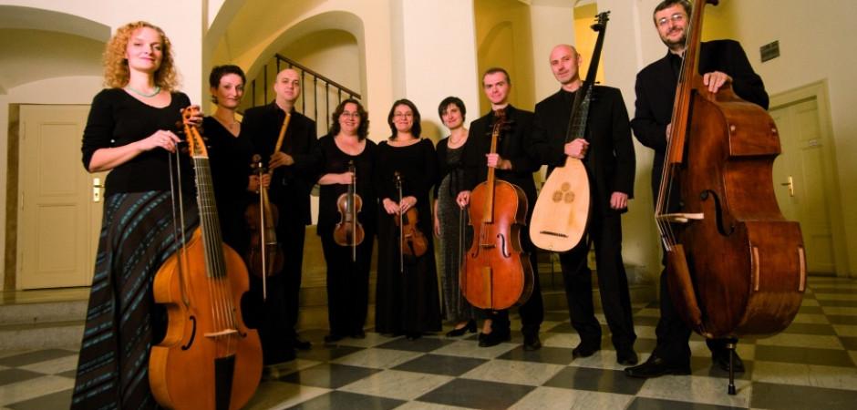 Musica Florea předvedla hudbu  z období klasicismu pomocí klasicistních nástrojů