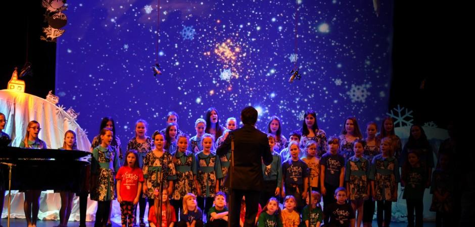 Děti přemohly Sněhovou královnu i podruhé a divákům nabídly skvělý večer