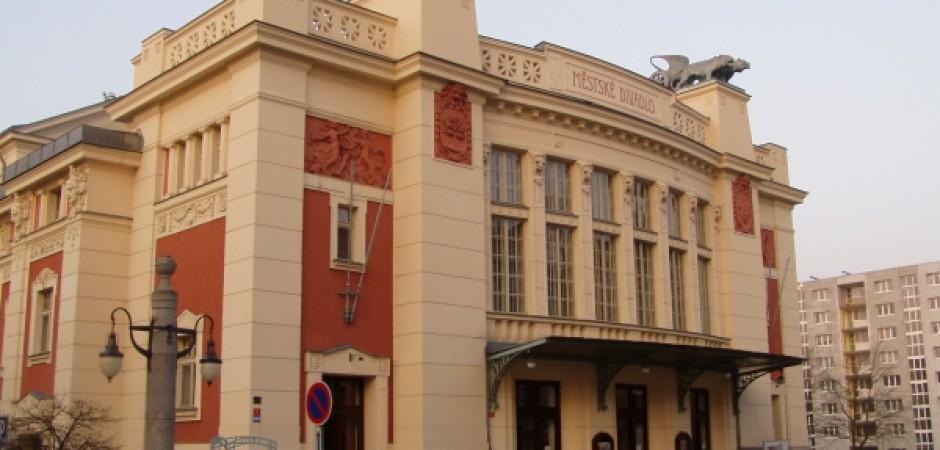 Exteriér Městského divadla