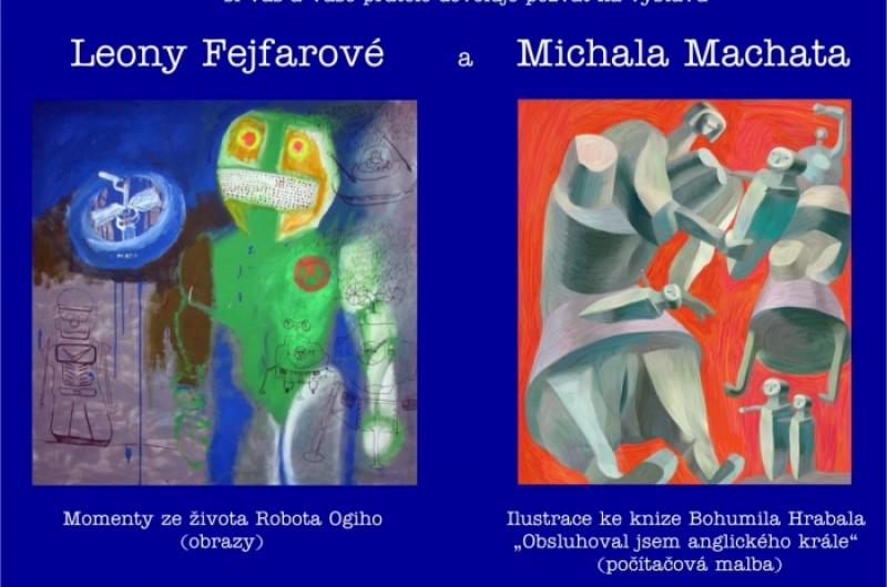 Leona Fejfarová a  Michal Machat